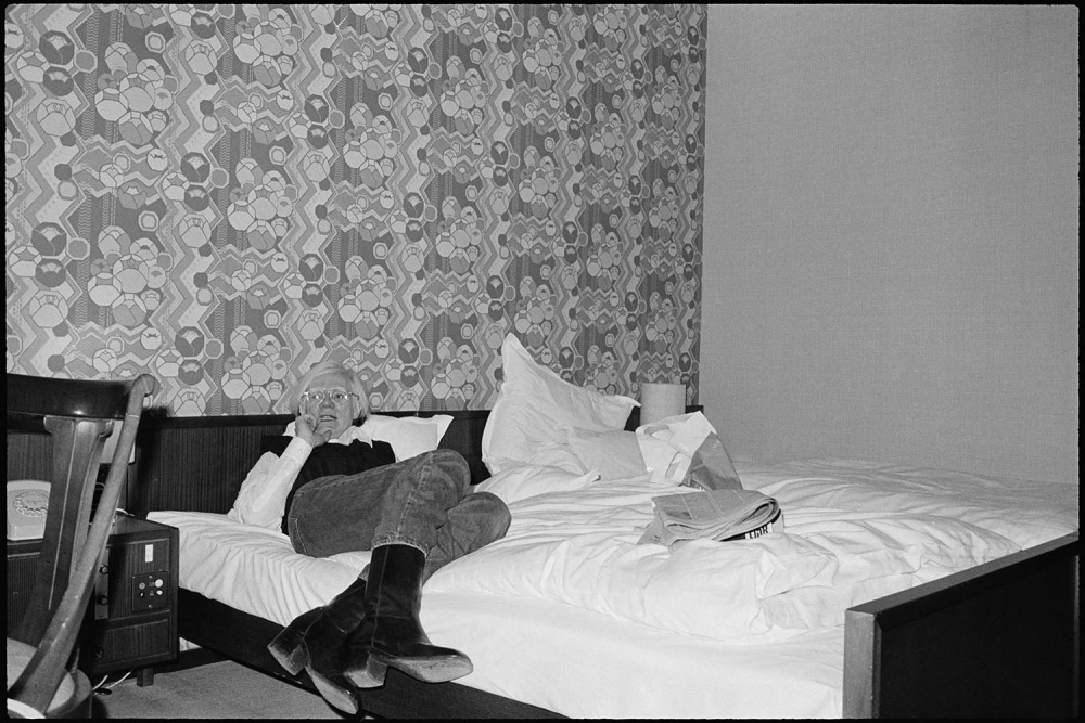 Andy at Hotel Bristol, Bonn, 1976