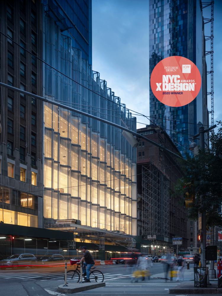 JCDA'S WORK FOR NYC NORDSTROM WINS AWARD