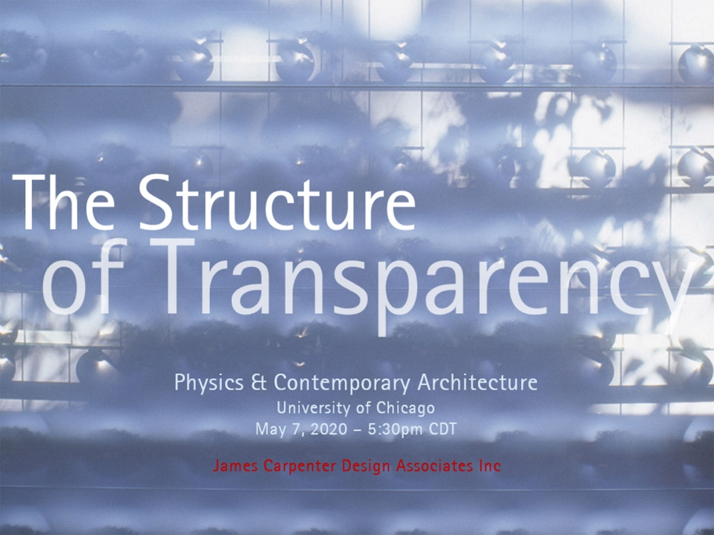 THE STRUCTURE OF TRANSPARENCY