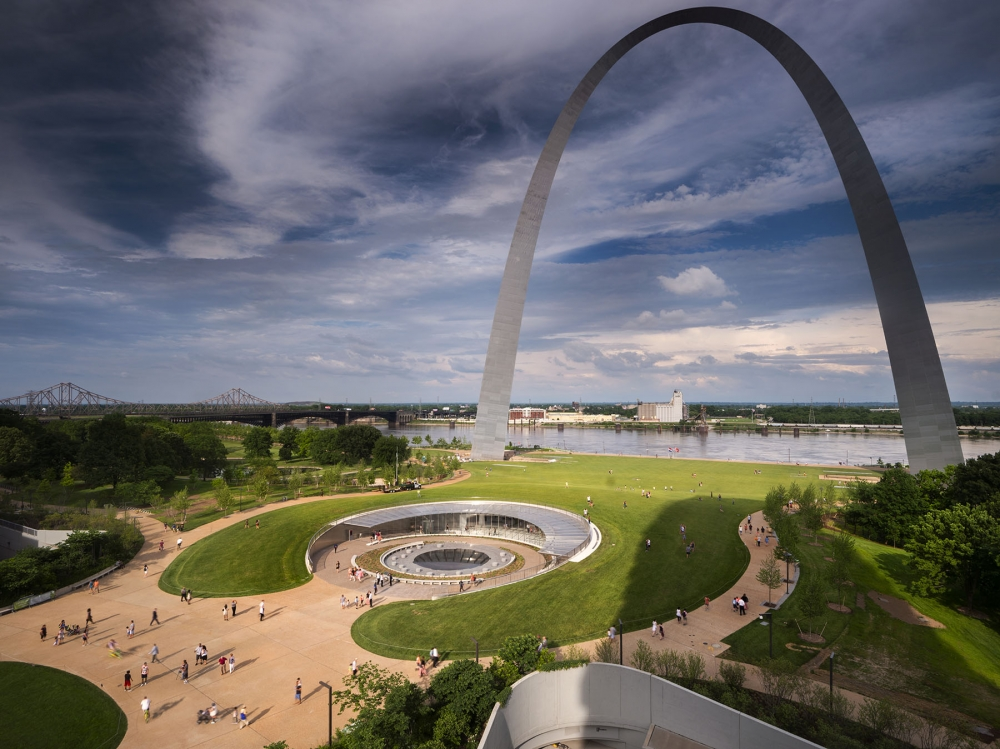 MUSEUM AT GATEWAY ARCH OPENS