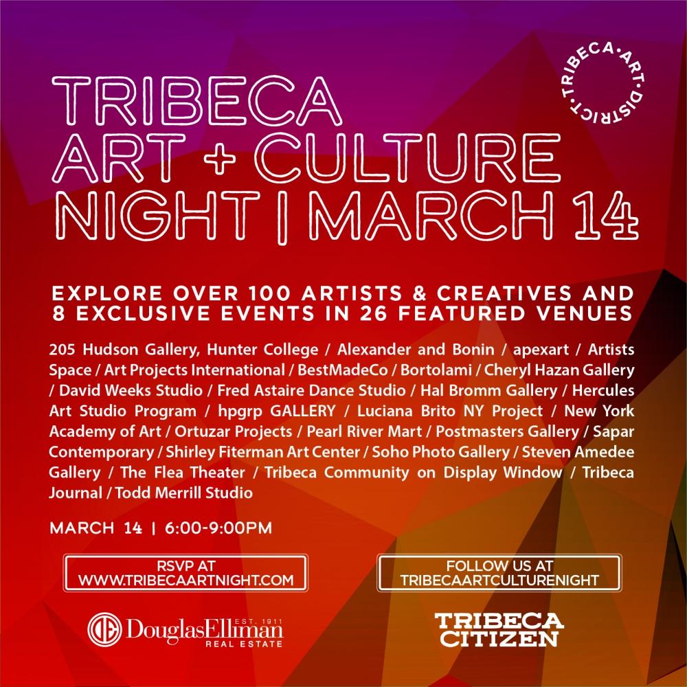 Tribeca Art+Culture Night : 7th Edition