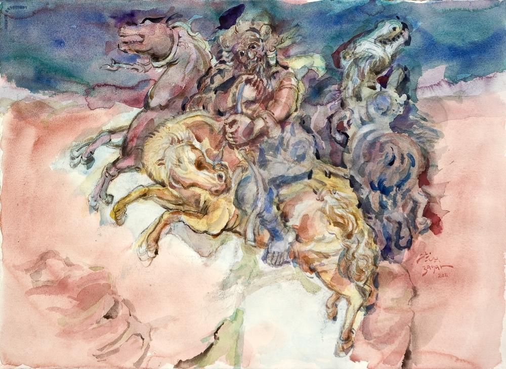 DELUGE- THE GODS ABANDON PALMYRA