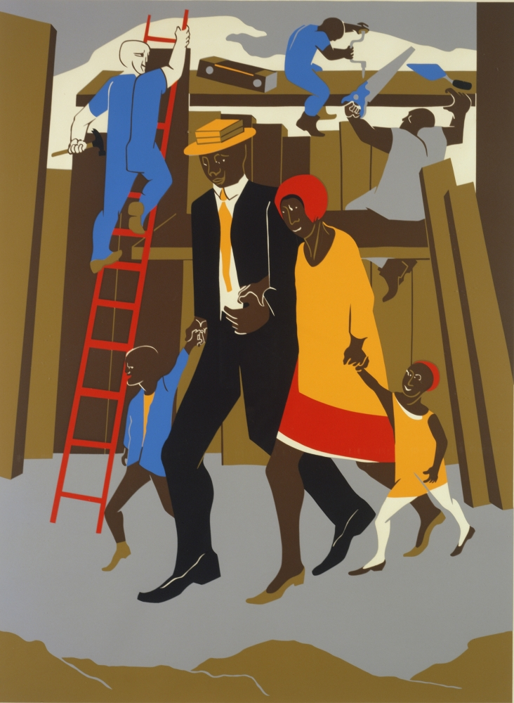 History, Labor, Life: The Prints of Jacob Lawrence