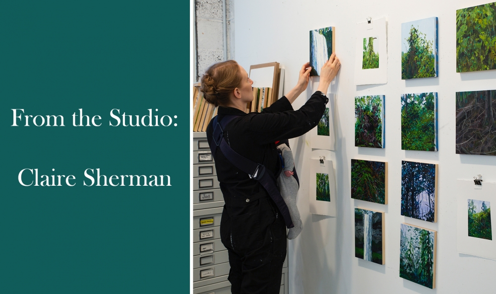 From the Studio: Claire Sherman