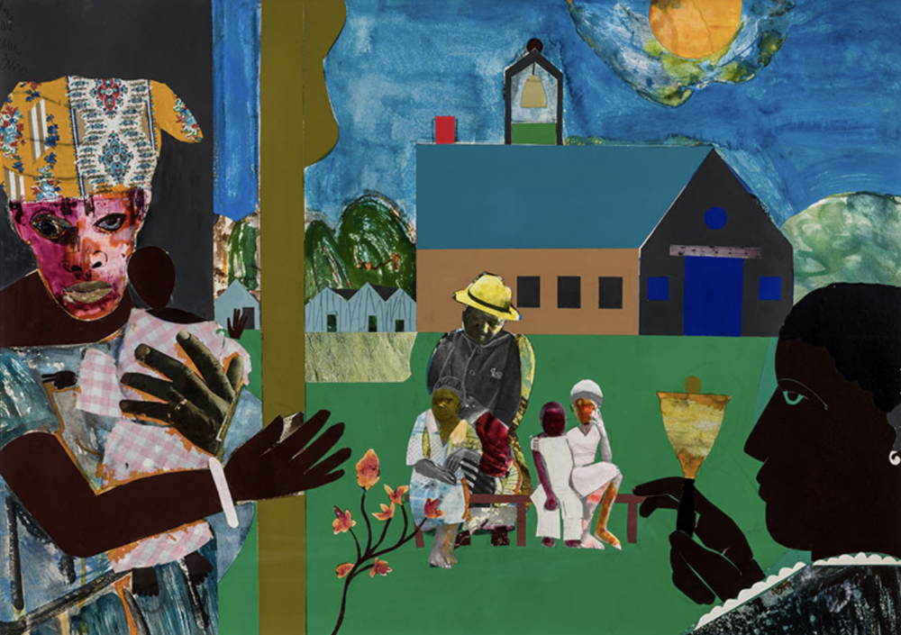 Something Over Something Else: Romare Bearden's Profile Series