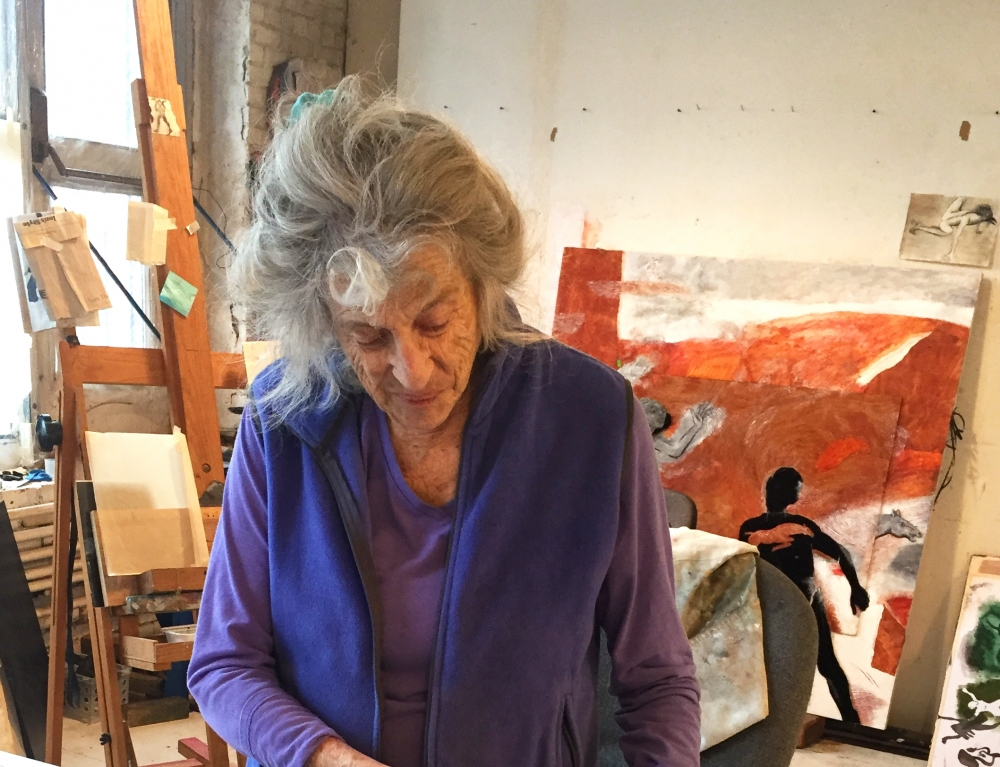 Artists in Conversation: Mary Frank and David Hornung
