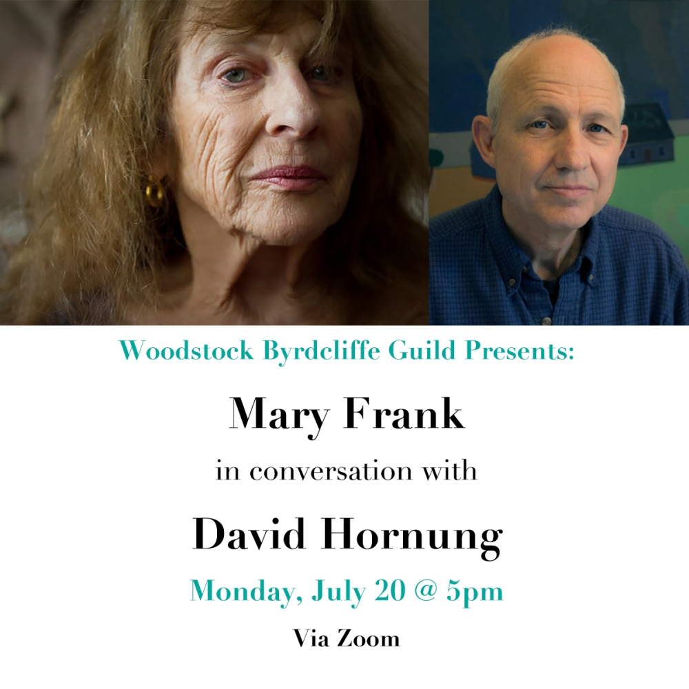 Woodstock Byrdcliffe Guild: Mary Frank in Conversation with David Hornung