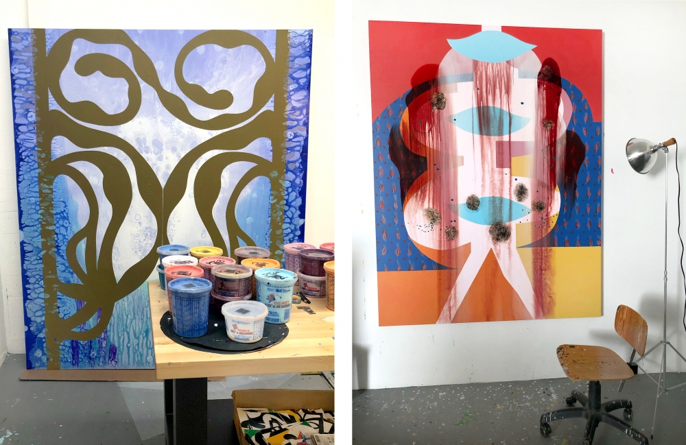 From the Studio: Carrie Moyer