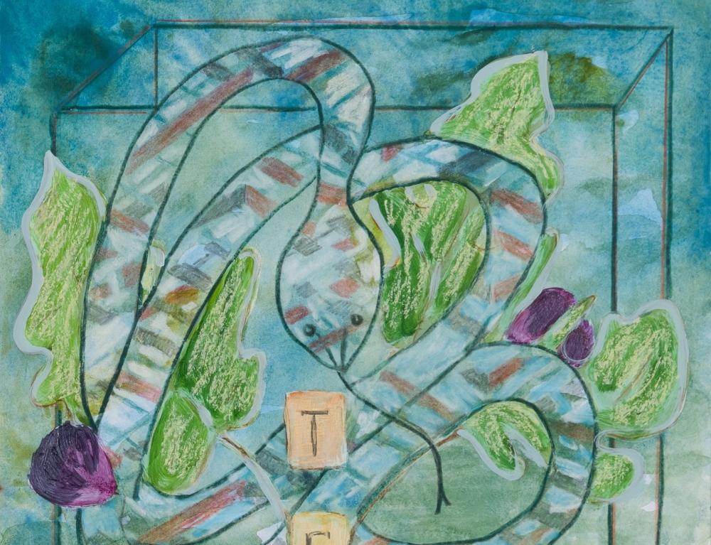 Angelina Gualdoni work on paper