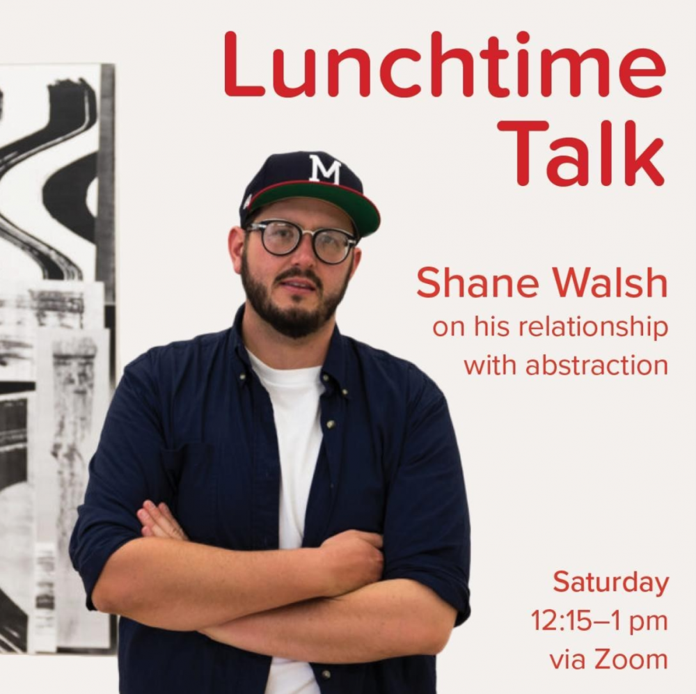 Artist Talk with Shane Walsh: Lunchtime Lecture with the Peninsula School of Art, Fish Creek, WI