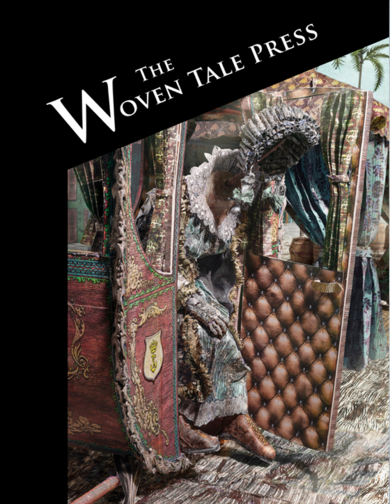 Jasper de Beijer featured in the Summer 2021 issue of The Woven Tale Press Magazine