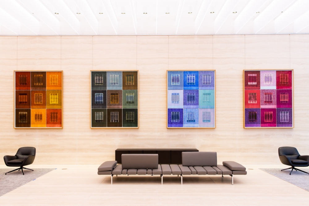 Idris Khan installation: The Seasons