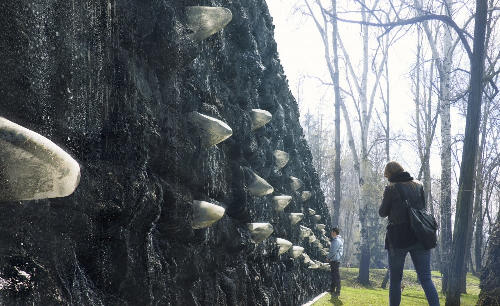 Marina Abramović: Crystal Wall of Crying