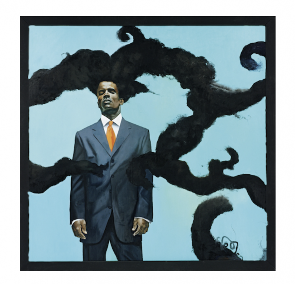 Kehinde Wiley in Black Refractions: Highlights from The Studio Museum in Harlem