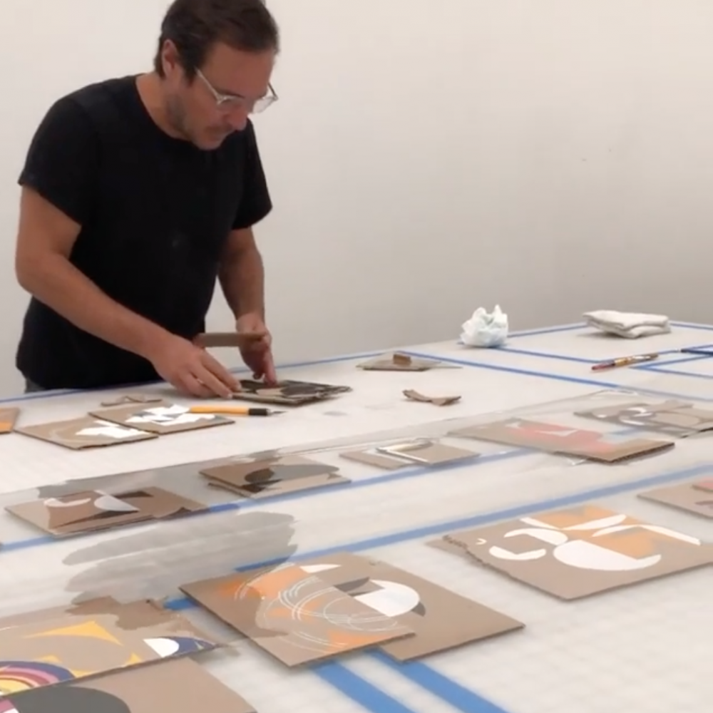 Jose Dávila in #IntheStudio