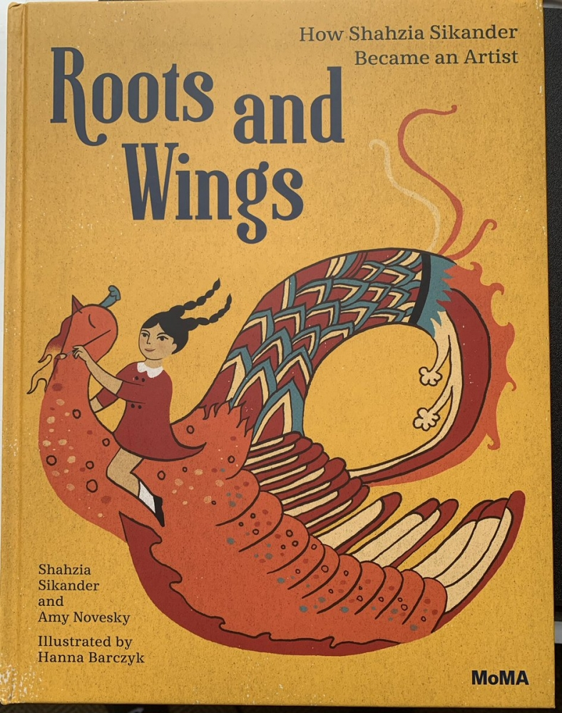 Shahzia Sikander in Family Interactive Tour and Storytime: Roots and Wings