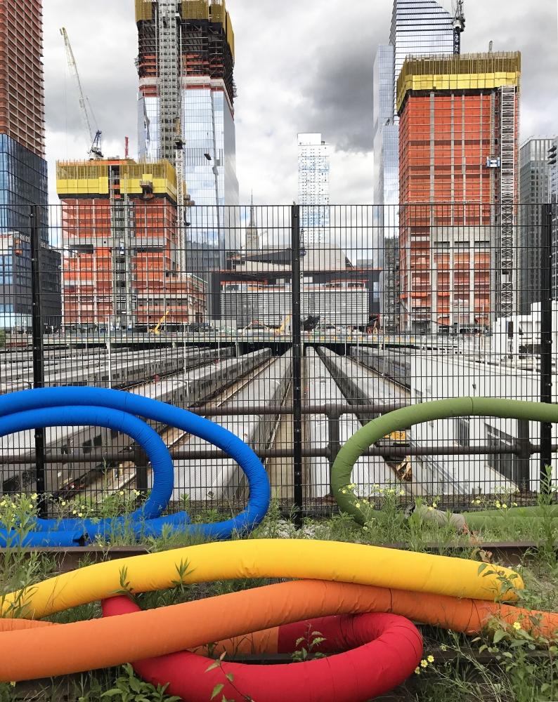 Artnews | Sheila Hicks at the Highline