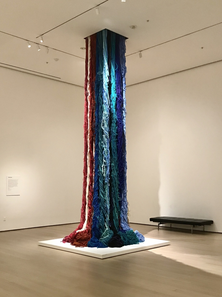 Sheila Hicks at MoMA
