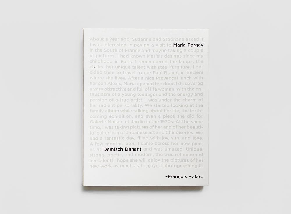 Maria Pergay by François Halard