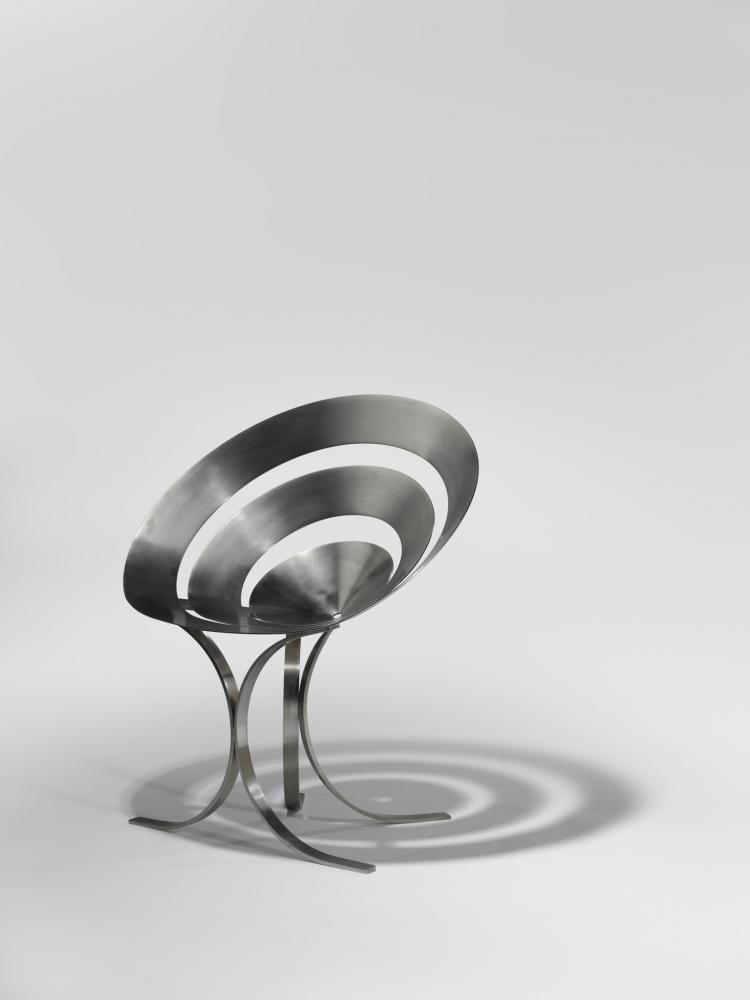 Maria Pergay, Chaise Anneaux / Ring Chair, 1968