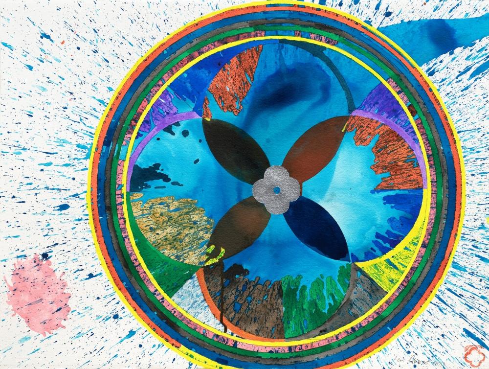 Max Gimblett: Ocean Wheel