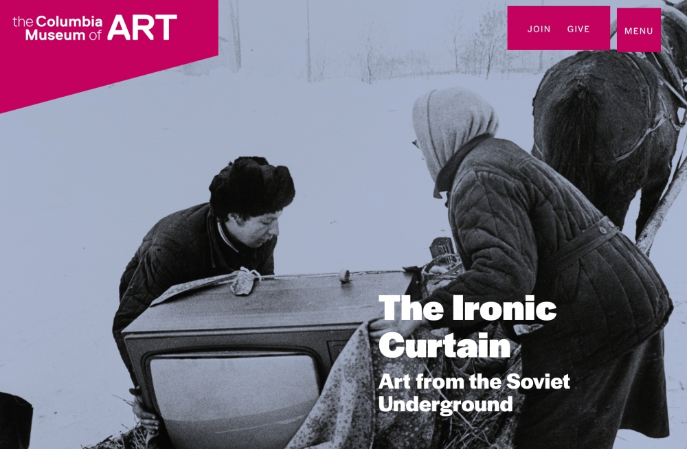 The Ironic Curtain: Art from the Soviet Underground, Columbia Museum of Art