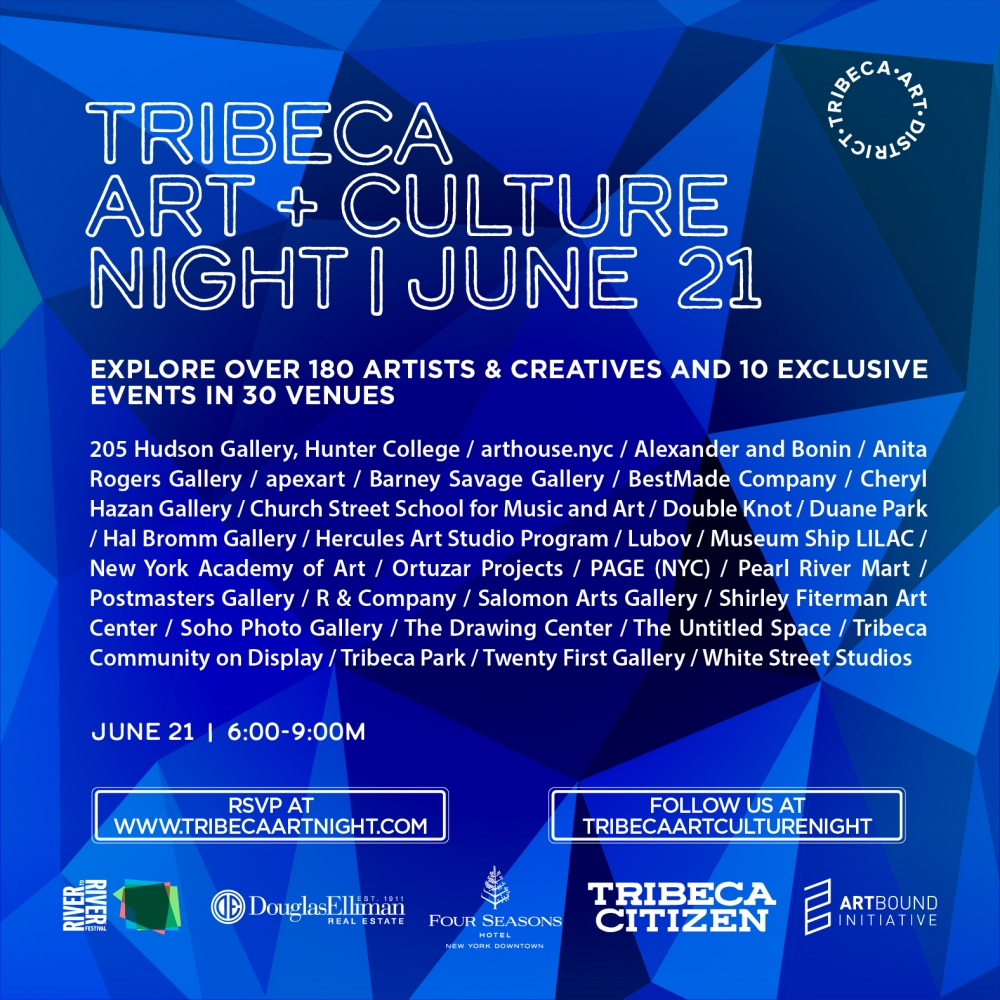 Anita Rogers Gallery Participates in Tribeca Art + Culture Night