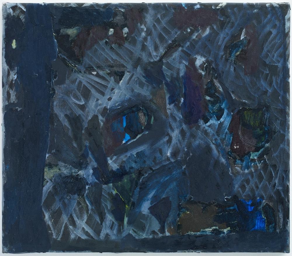 "Varda Caivano. Untitled. 2016. Oil on canvas. 18 7/8"" x 21 5/8"""