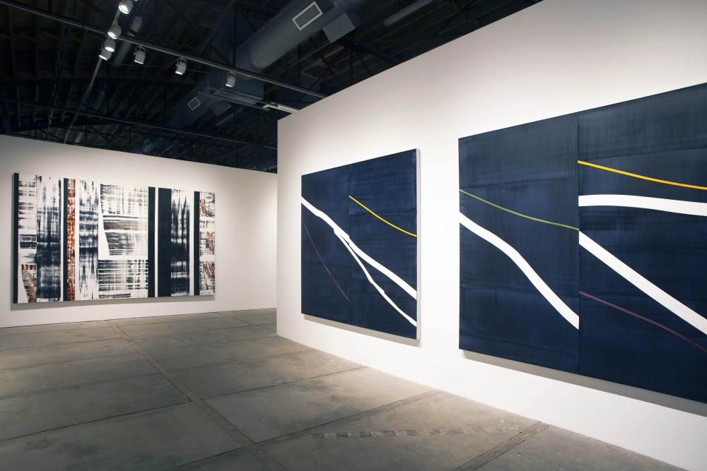 Artist Ricardo Mazal in his studio, Santa Fe, New Mexico
