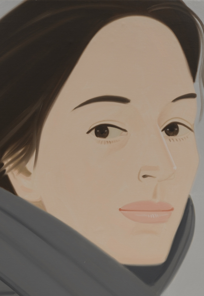 Alex Katz: The Grey Coat (Ada), 1982