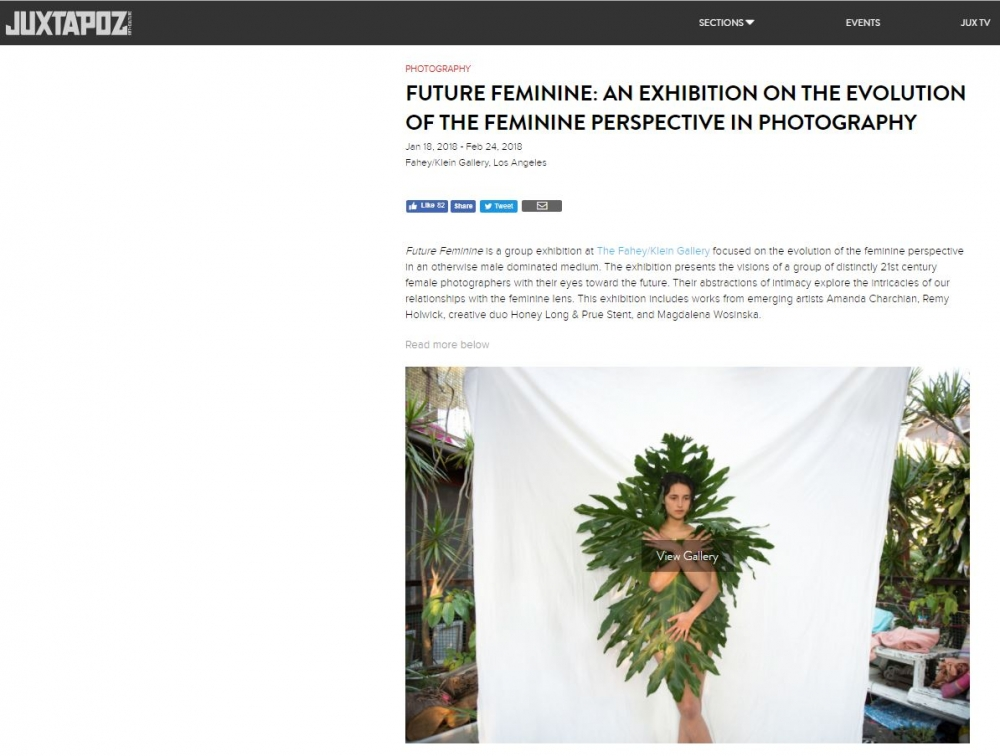 Future Feminine: An Exhibition on the Evolution of the Feminine Perspective in Photography - Juxtapose Magazine