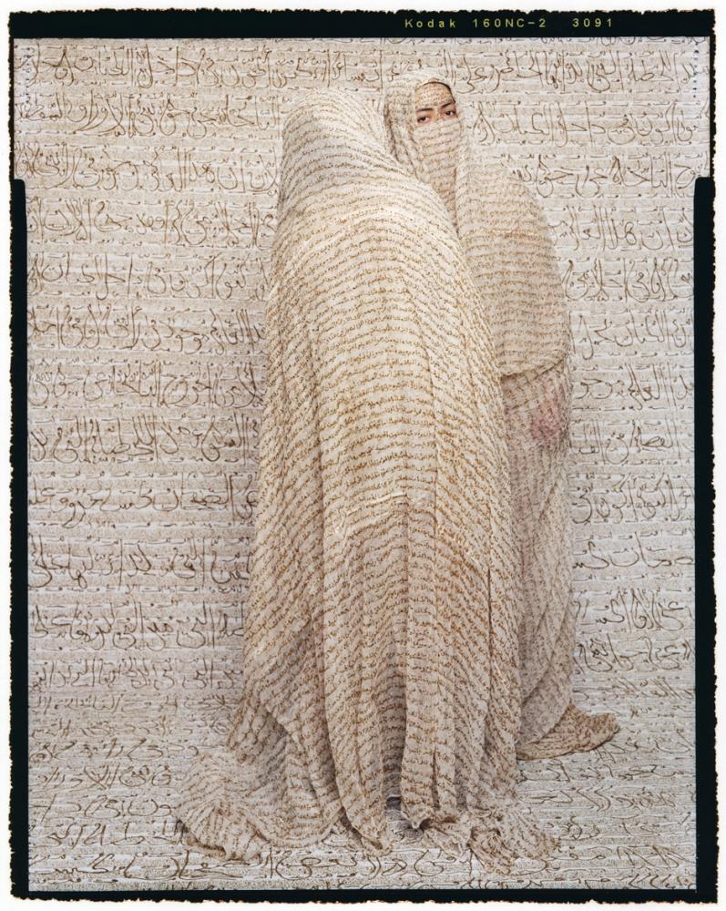 Les Femmes du Maroc- Outdoor Gossip, 2008, chromogenic print, 60x48in