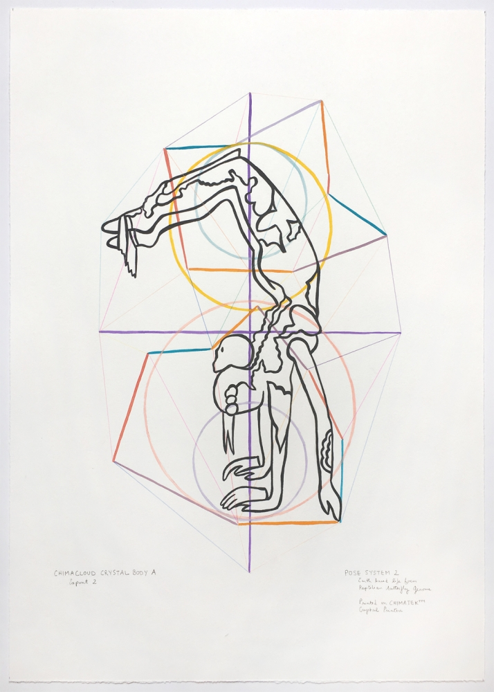 Curator Christian L. Frock of SF/Arts Reviews Dialogues in Drawing