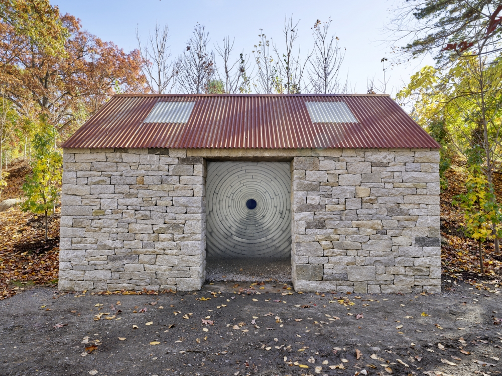Andy Goldsworthy, Watershed, Permanent commission deCordova Sculpture Park and Museum November 9, 2019