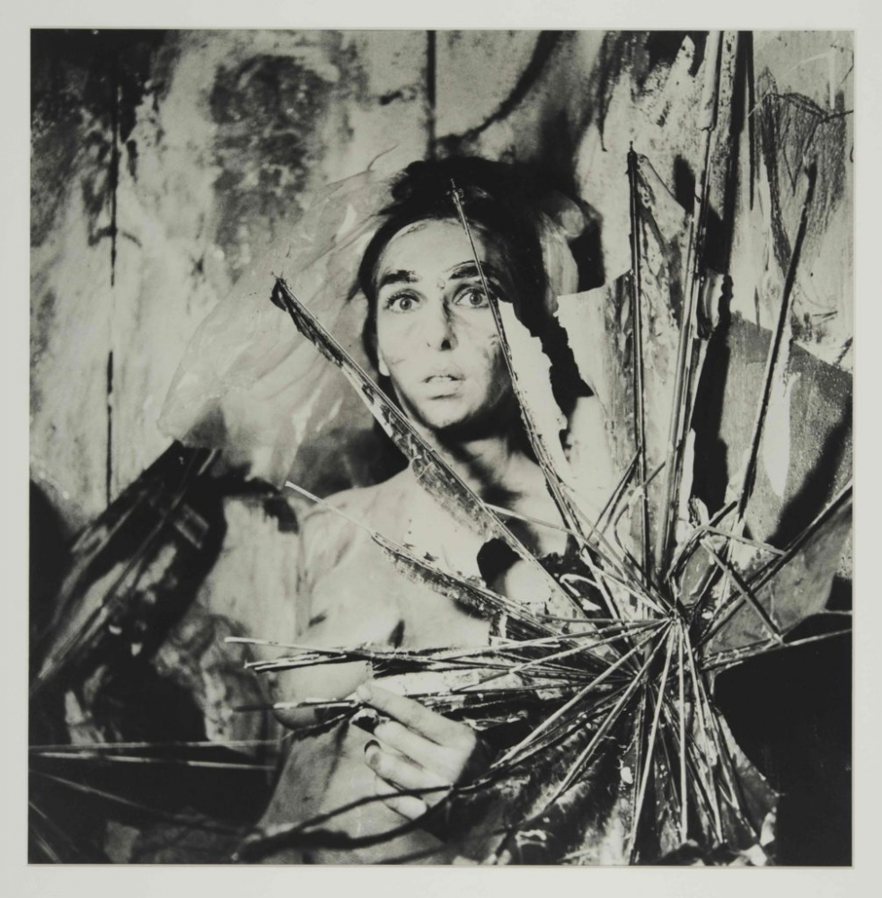 """Carolee Schneemann, from the series """"Eye Body: 36 Transformative Actions for Camera,"""" (1963/2005)."""