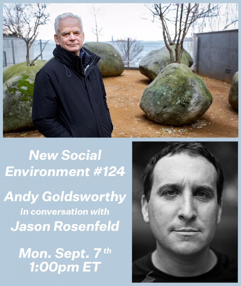 Andy Goldsworthy, Jason Rosenfeld