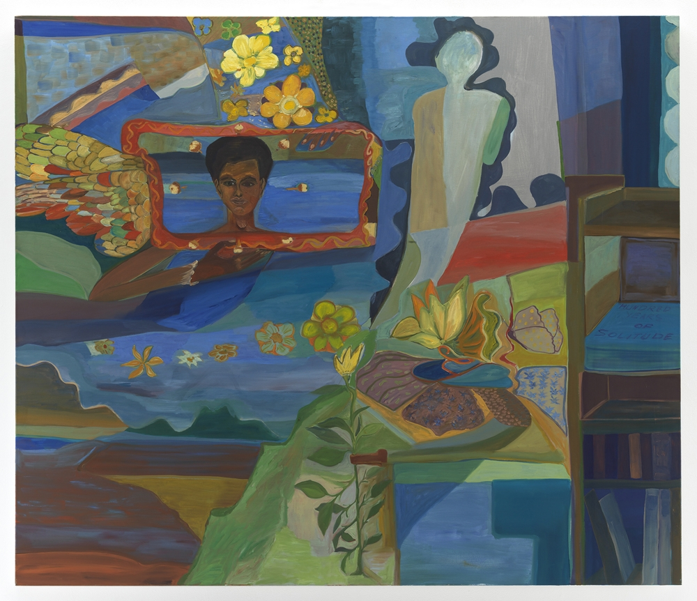 Ficre Ghebreyesus One Hundred Years, 2011 Acrylic on canvas 72 x 84 inches (182.9 x 213.4 cm) GL13854