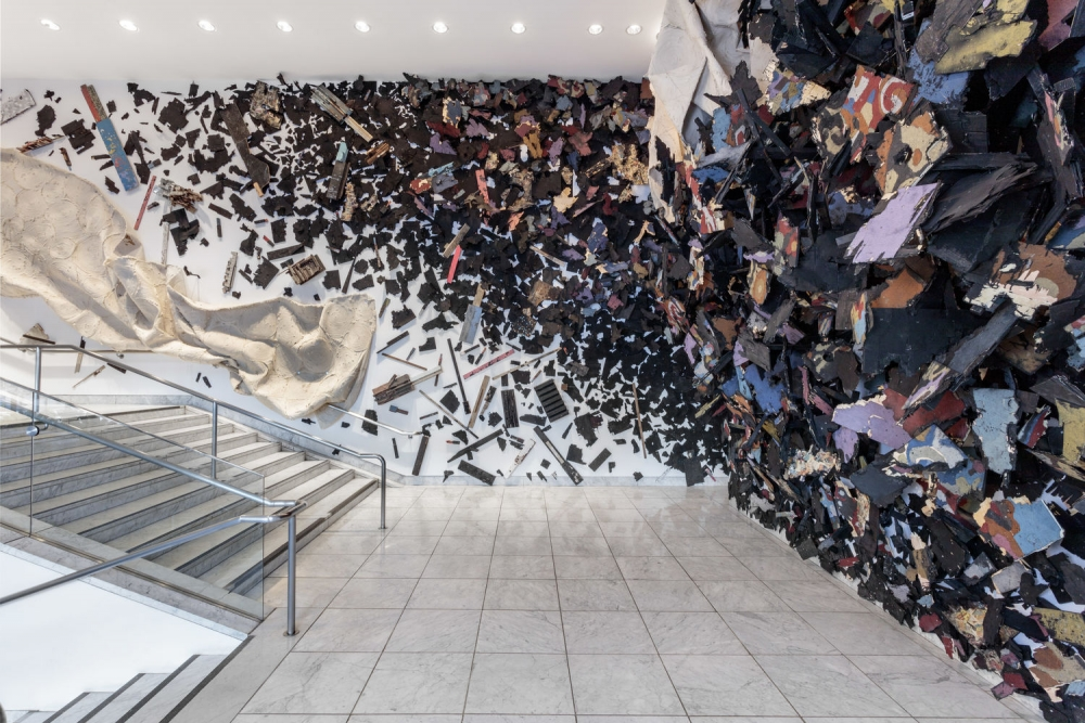 Hammer Projects: Leonardo Drew, installation view Hammer Museum, Los Angeles, December 21, 2019–May 10, 2020. Photo: Joshua White