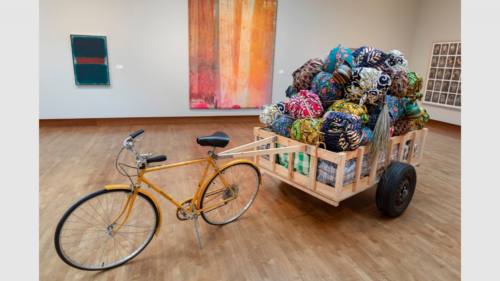 Installation view courtesy of Chazen Museum of Art
