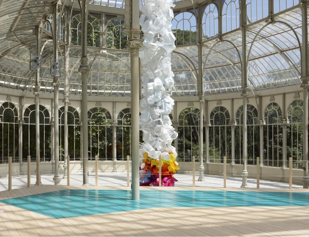 Jessica Stockholder at Palacio de Cristal