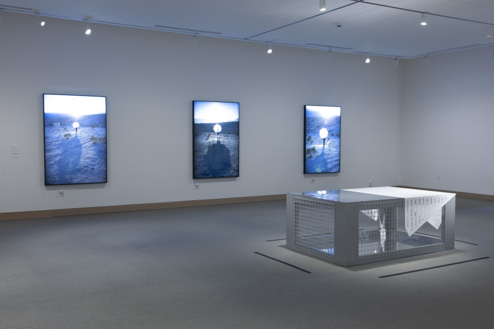 Installation view of Mary Kelly: Selected Works