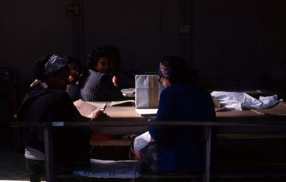 MARTHA ROSLER Workshop 1981