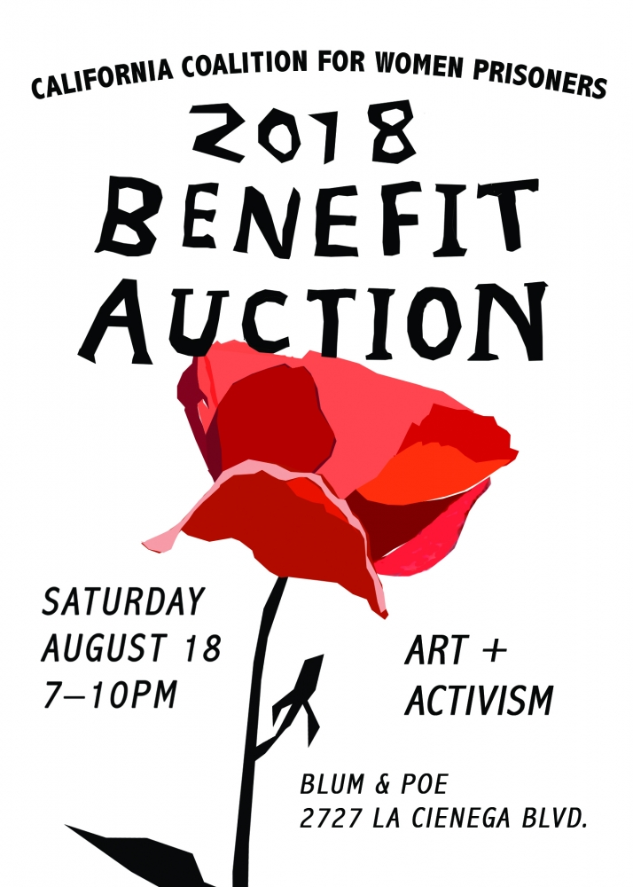 Bid on Keltie Ferris in the California Coalition for Women Prisoners 2018 Benefit Auction