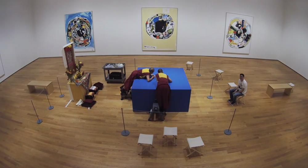 MEDICINE BUDDHA MANDALA — CREATION and DISSOLUTION at The Drawing Center