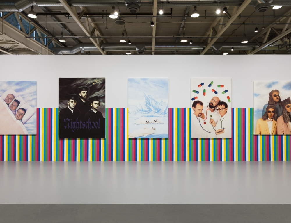 General Idea in Unlimited at Art Basel