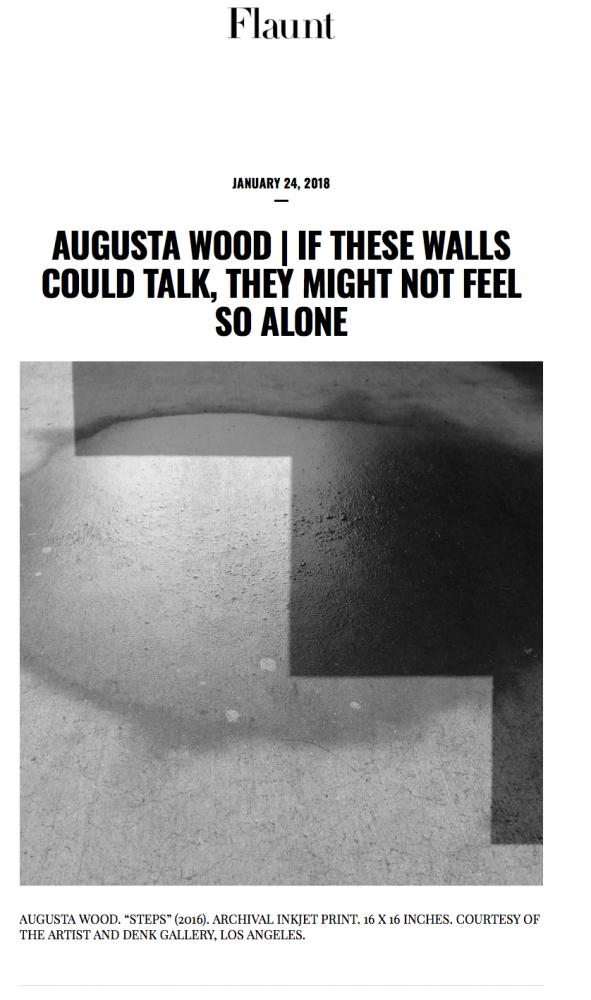 Augusta Wood in Flaunt Magazine