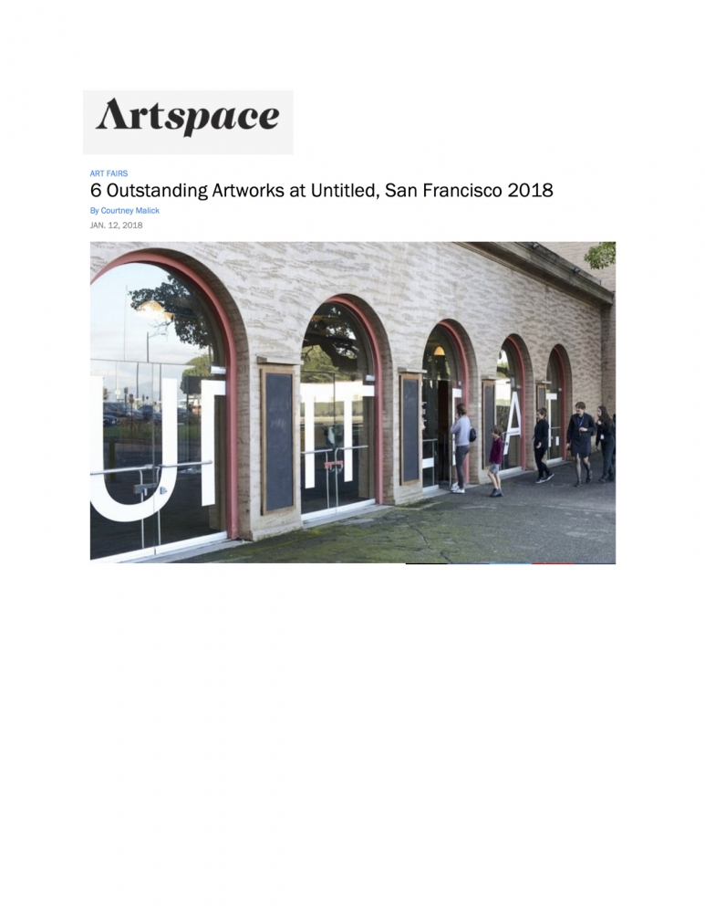 Artspace  6 Outstanding Artworks at Untitled