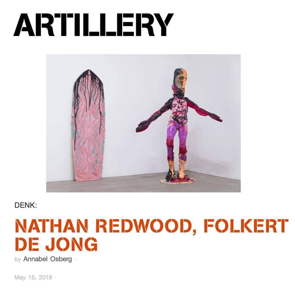 Artillery Magazine, Nathan Redwood, Folkert de Jong