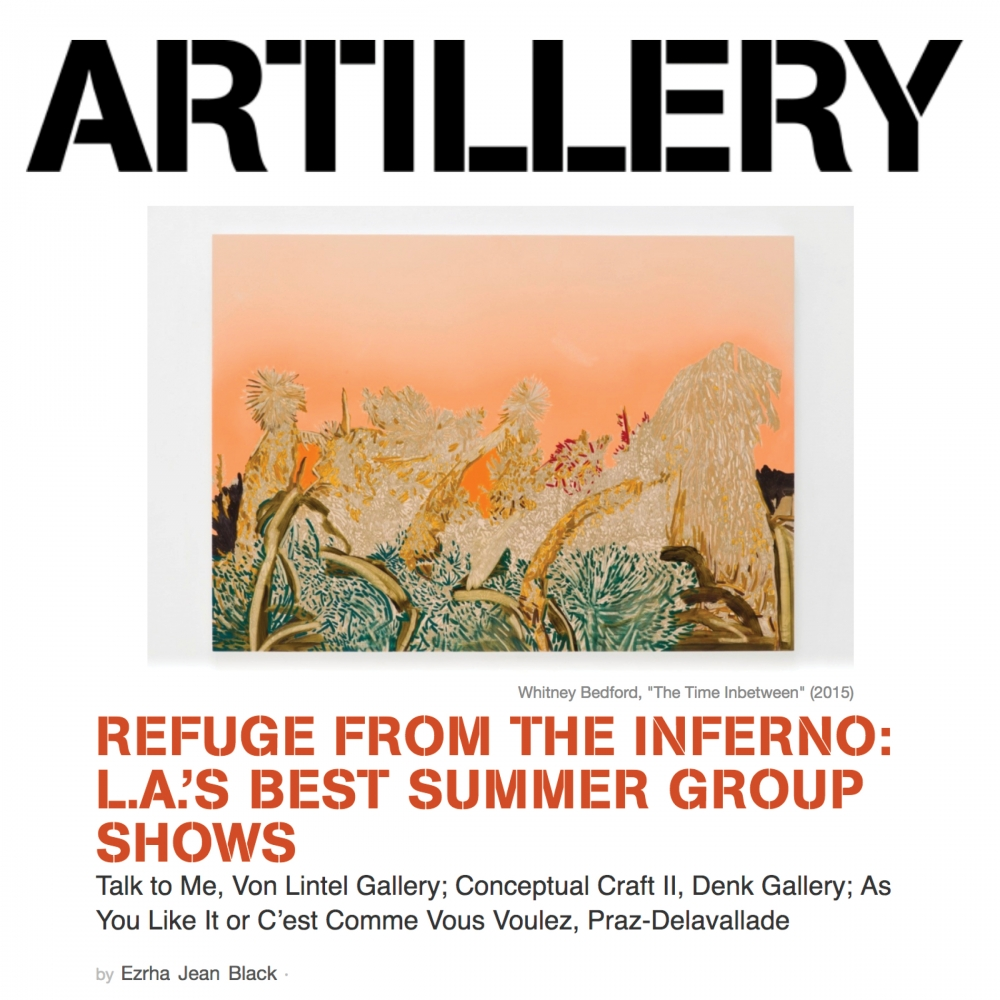 Refuge from the Inferno: L.A.'s Best Summer Group Shows - Artillery Magazine