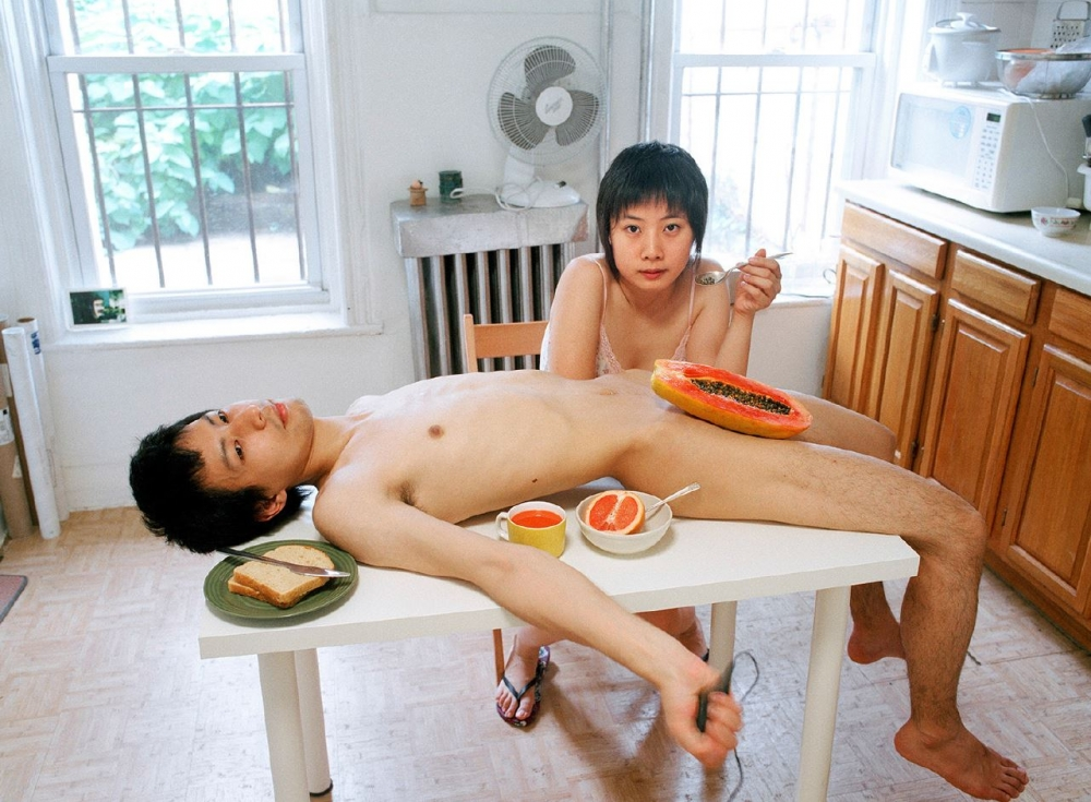 Pixy Liao's best photograph: eating a papaya off my boyfriend's crotch